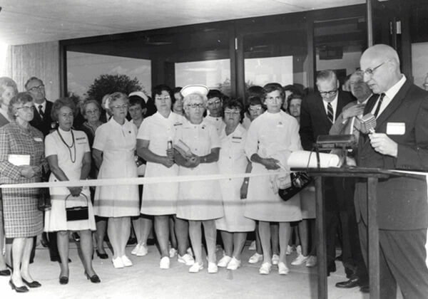 opening of hospital ceremony